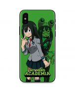 Tsuyu Frog Girl iPhone X Skin