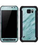 Turquoise Marble Galaxy S6 Active Skin