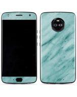 Turquoise Marble Moto X4 Skin
