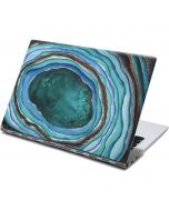 Turquoise Watercolor Geode Yoga 910 2-in-1 14in Touch-Screen Skin