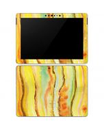 Tuscan Sun Watercolor Geode Surface Go Skin