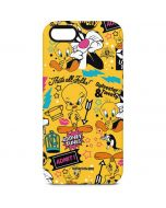 Tweety and Sylvester Patches iPhone 5/5s/SE Pro Case