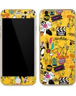 Tweety and Sylvester Patches iPhone 6/6s Skin