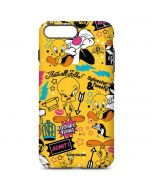 Tweety and Sylvester Patches iPhone 7 Plus Pro Case