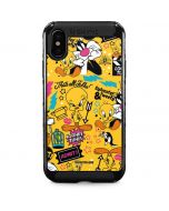 Tweety and Sylvester Patches iPhone XS Max Cargo Case