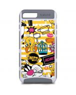 Tweety and Sylvester Striped Patches iPhone 8 Plus Cargo Case
