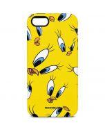 Tweety Bird Super Sized Pattern iPhone 5/5s/SE Pro Case