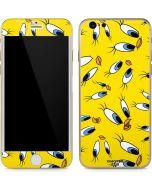 Tweety Bird Super Sized Pattern iPhone 6/6s Skin