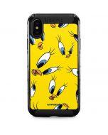 Tweety Bird Super Sized Pattern iPhone XS Max Cargo Case