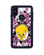 Tweety Bird with Attitude iPhone XS Waterproof Case