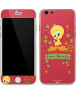 Tweety Embroidered iPhone 6/6s Skin