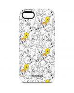 Tweety Super Sized Pattern iPhone 5/5s/SE Pro Case