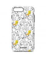 Tweety Super Sized Pattern iPhone 7 Plus Pro Case
