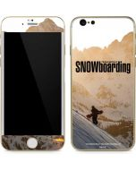 TransWorld SNOWboarding Sunset iPhone 6/6s Skin
