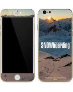 TransWorld SNOWboarding Shadows iPhone 6/6s Skin