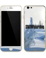 TransWorld SNOWboarding Trees iPhone 6/6s Skin