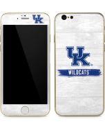 UK Kentucky Wildcats Wood iPhone 6/6s Skin