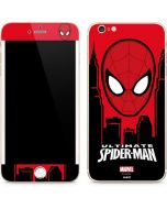 Ultimate Spider-Man Face iPhone 6/6s Plus Skin