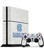 UNC Carolina PS4 Console and Controller Bundle Skin