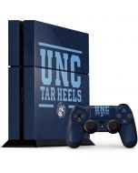 UNC Tar Heels PS4 Console and Controller Bundle Skin