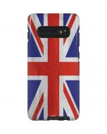 United Kingdom Flag Distressed Galaxy S10 Plus Pro Case
