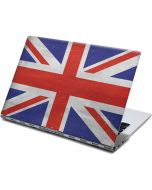 United Kingdom Flag Distressed Yoga 910 2-in-1 14in Touch-Screen Skin