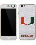 University of Miami Mesh iPhone 6/6s Skin