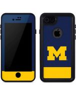 University of Michigan Logo iPhone 8 Waterproof Case