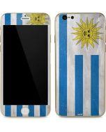 Uraguay Flag Distressed iPhone 6/6s Skin