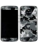 Urban Camouflage Black Moto X4 Skin