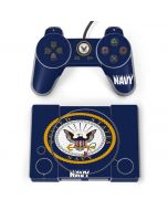 US Navy Symbol PlayStation Classic Bundle Skin