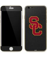 USC Dark Grey Logo iPhone 6/6s Skin