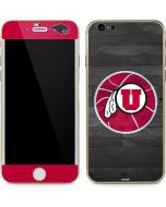 Utah Basketball Grey iPhone 6/6s Skin