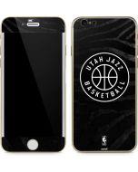 Utah Jazz Black Animal Print iPhone 6/6s Skin