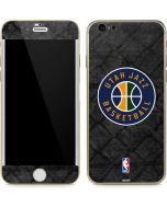 Utah Jazz Black Rust iPhone 6/6s Skin