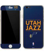Utah Jazz Standard - Blue iPhone 6/6s Skin