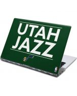 Utah Jazz Standard - Green Yoga 910 2-in-1 14in Touch-Screen Skin