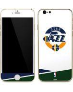 Utah Jazz White Split iPhone 6/6s Skin