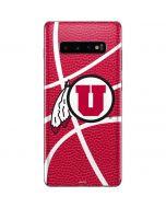Utah Red Basketball Galaxy S10 Plus Skin