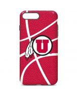 Utah Red Basketball iPhone 7 Plus Pro Case