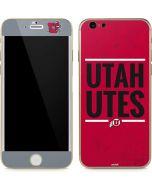 Utah Utes Bold iPhone 6/6s Skin