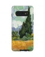 van Gogh - Wheatfield with Cypresses Galaxy S10 Plus Pro Case