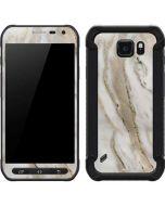 Vanilla Marble Galaxy S6 Active Skin