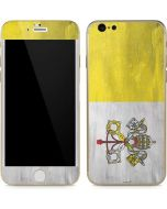 Vatican City Flag Distressed iPhone 6/6s Skin