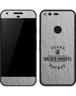 Vegas Golden Knights Black Text Google Pixel Skin