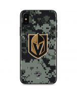 Vegas Golden Knights Camo iPhone XS Skin