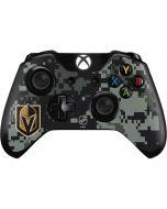 Vegas Golden Knights Camo Xbox One Controller Skin