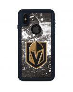Vegas Golden Knights Frozen iPhone X Waterproof Case