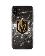 Vegas Golden Knights Frozen iPhone XS Skin
