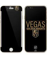 Vegas Golden Knights Lineup iPhone 6/6s Skin